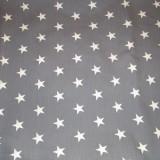 1-1009_Grå med vita stjärnor