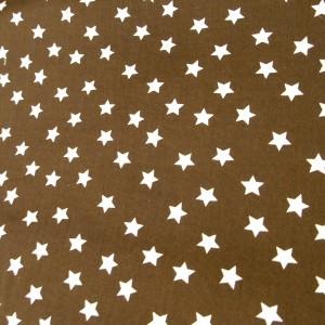 Brun med vita stjärnor