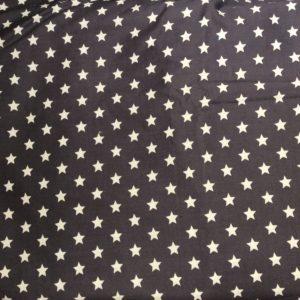 Grå med vita stjärnor